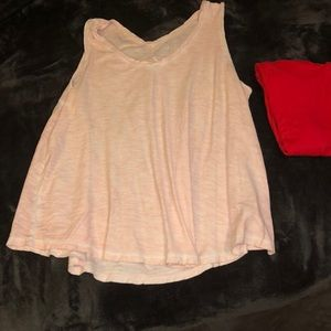 cute light pink tank top